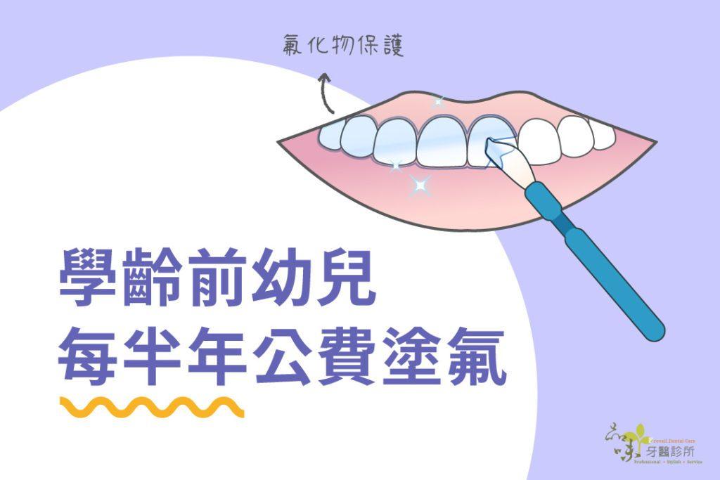 蛀牙 塗氟 健保 公費